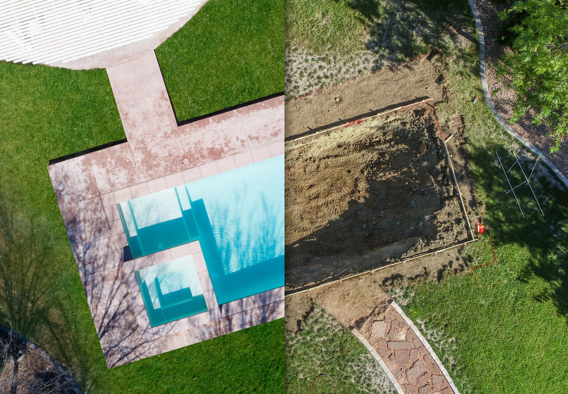 Construyendo piscinas - Piscinas Lledos